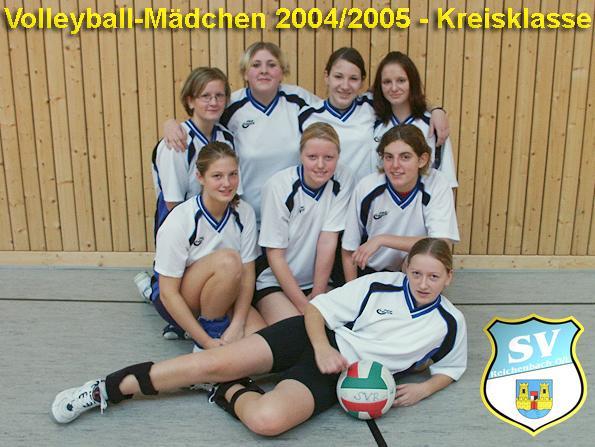 Volleyball mädchen 2002 2003